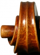 violin after Lord Wilton Guarneri Sept 2013 volute