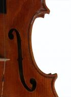 viola 16 3/4′ 42.7cm in Brescian style f-hole-treble