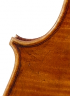 viola 16 1/8′ 40.9cm after Brothers Amat back detail