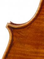viola 16 1/8′ 40.9cm after Brothers Amat back detail