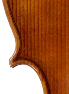 viola 16 1/8′ 40.9cm after Brothers Amat front-detail-treble