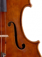 viola 16 1/8′ 40.9cm after Brothers Amat front-detail