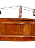 viola 16 1/8′ 40.9cm after Brothers Amat side-detail