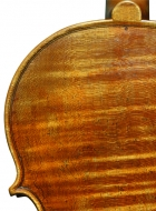 violin after Lord Wilton Guarneri Sept 2013 back upper bout