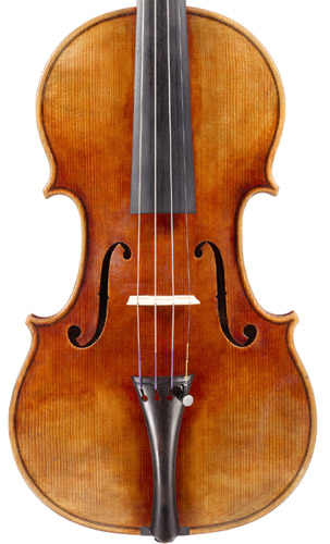 Andreas Hudelmayer, violin after A Stradivari