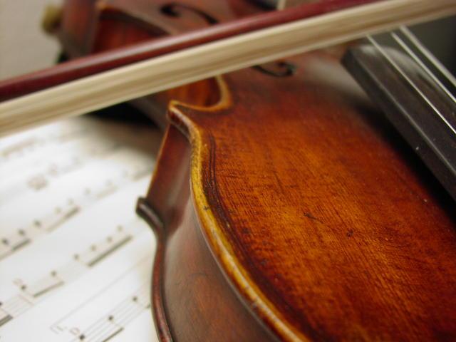 a pic of a funny violin