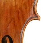 detail viola 16 3/4′ after Gaspar da Salo