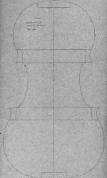 reconstruction of Stradivari mold P