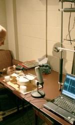 Tom King demonstrates his Fuhr tube technique for analysing instrument resonances